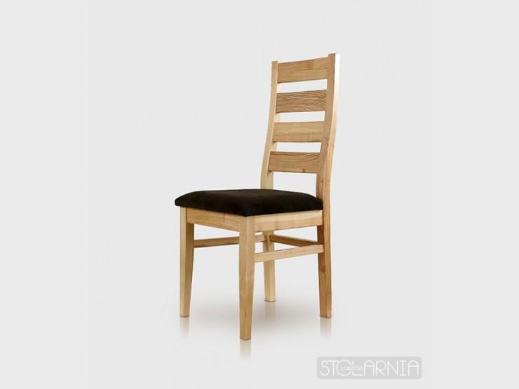 Krzesło jesionowe tapicerowane SIMON