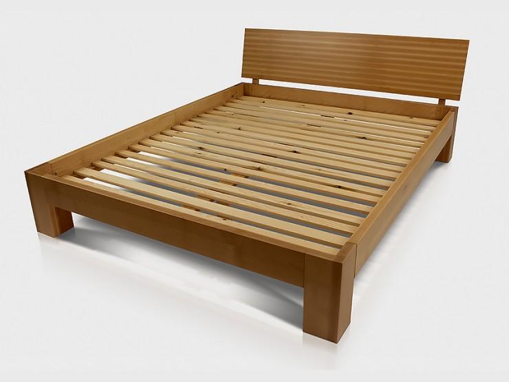 Łóżko bukowe ERWIN