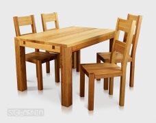 Stół jesionowy  SIMON
